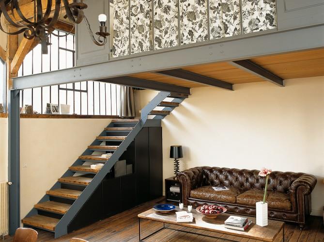 Decorando francesa visite priv e um pequeno loft - Loft pequeno ...