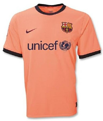 barcelona fc jersey 2010. The new AWAY jersey is a