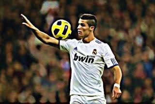 Cristiano Ronaldo juggle