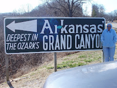 Arkansas Grand Canyon Sign