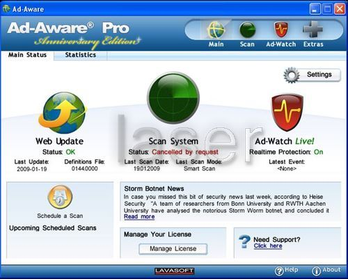 Lavasoft Ad Aware Pro Internet Security
