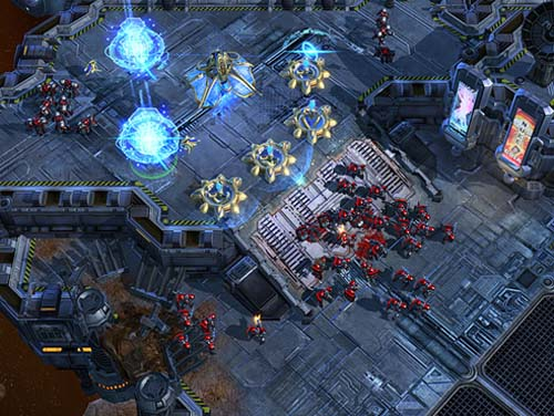 StarCraft II Wings of Liberty demo