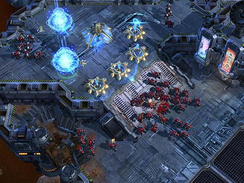 StarCraft II Wings of Liberty demo