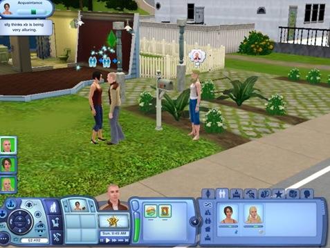The Sim 3 modes