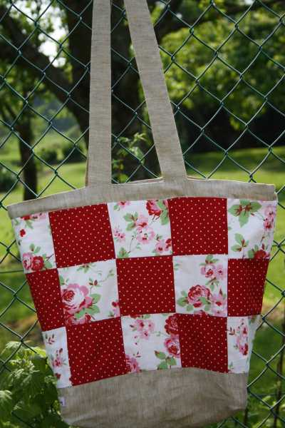 conny s n h und deko blog rosalie patchwork tasche. Black Bedroom Furniture Sets. Home Design Ideas