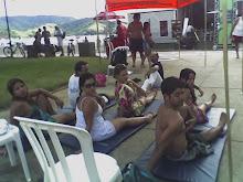 Aulas na praia de Santos!