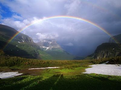 wallpaper mountain. rainbow wallpaper. Mountain