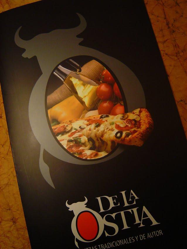 Blanco comunicaci n de la ostia pizzas tradicionales y de autor - Restaurante l ostia ...