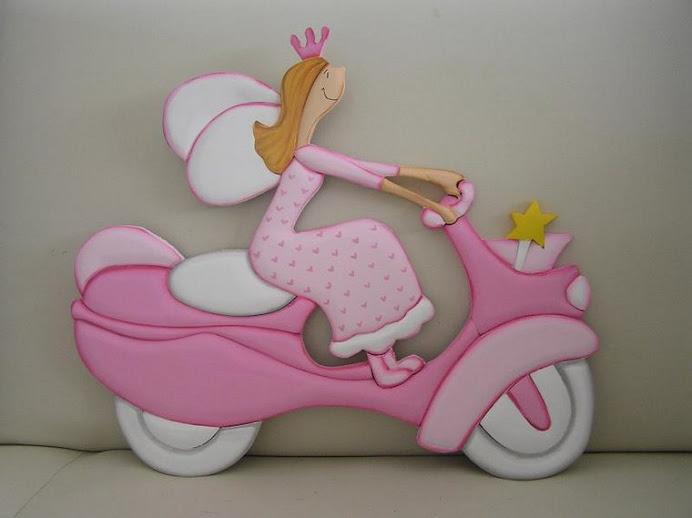 hada moto rosa