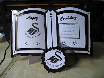 Swans Birthday Bookatrix