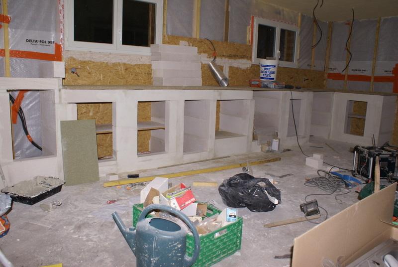 Auto construction bois construction des meubles en siporex - Cuisine en siporex photos ...