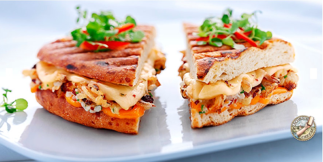 ... you that melted cheese on grilled bread can be grown up and gourmet