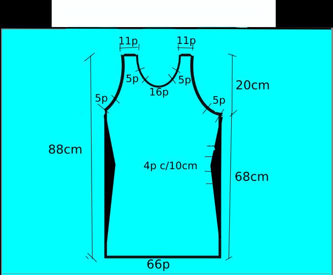 Utilisima puntos y puntadas moldes de vestidos