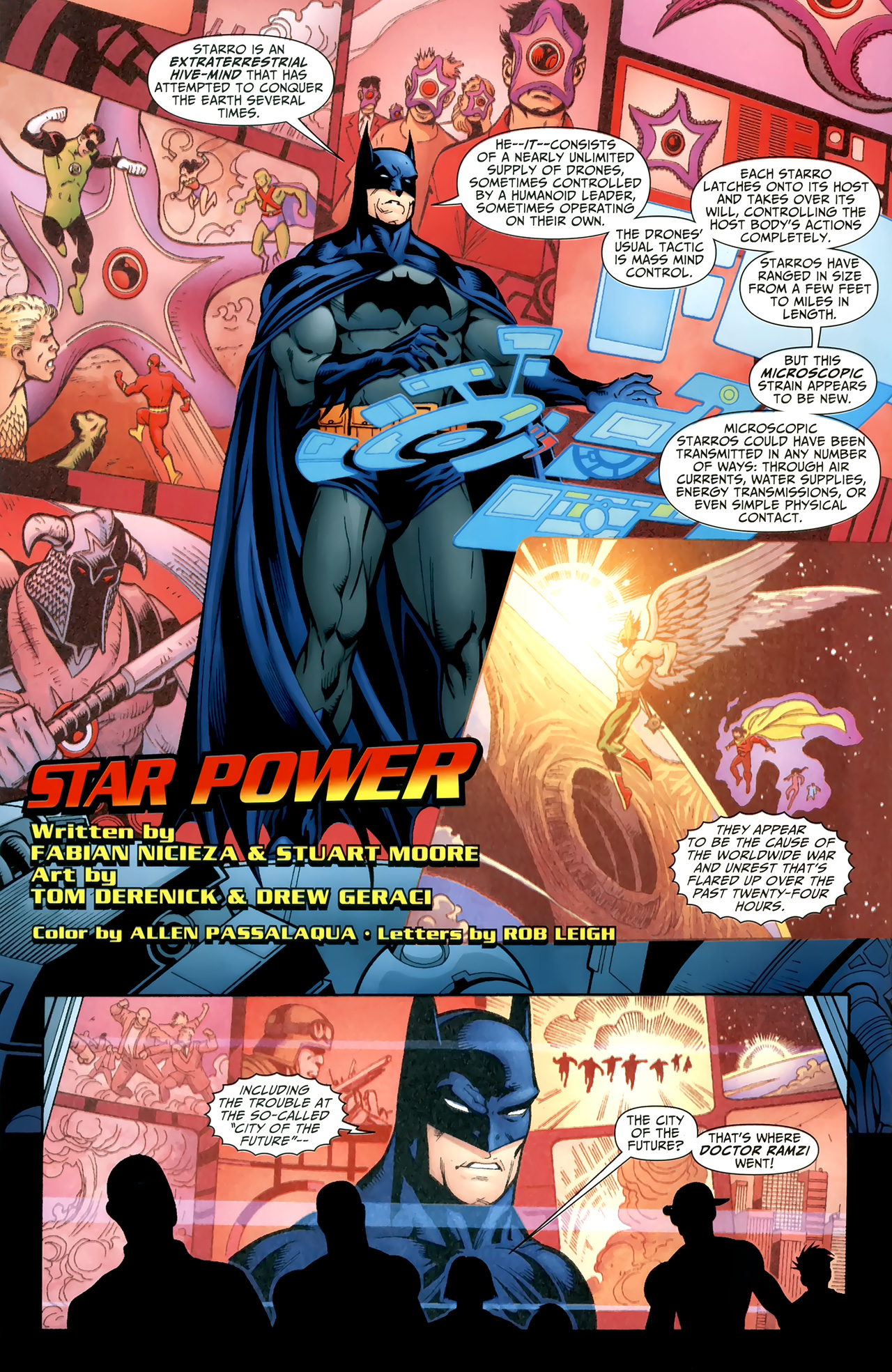Read online Justice League of America/The 99 comic -  Issue #3 - 3