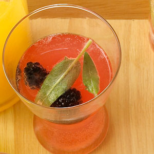 ... homemade lemonade and garnish with fresh lavender blackberry lemonade