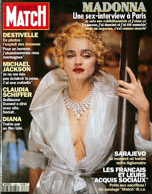 Madonna : On The Cover Of A Magazine: PARIS MATCH France February ...