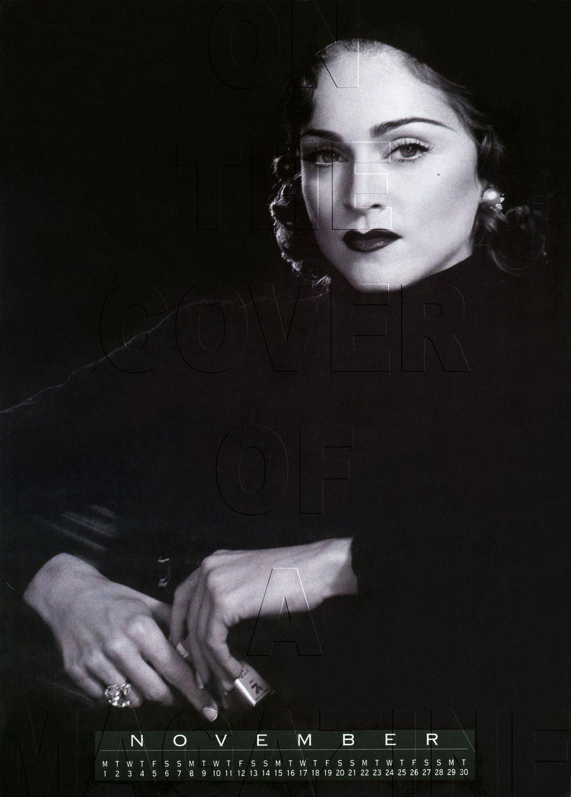 madonna   on the cover of a magazine otcoam rare madonna