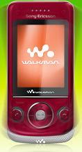 Sony Handphone W760