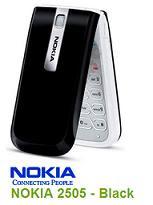 NOKIA 2505 Black
