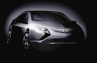 Electric Opel Ampera