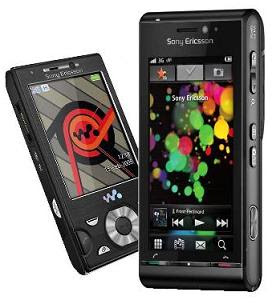 Sony Ericsson W995 and Idou