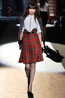 Aarkeybabble : Model Sheila Marquez at the 2008 Dsquared RTW show was not only smoking, but she was smoking hot!