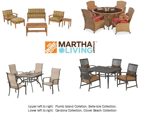house blend martha stewart outdoor living furniture collections