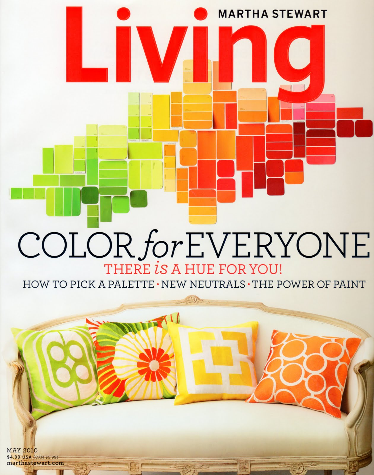 House blend martha stewart living may 2010 color for everyone Home design and living magazine