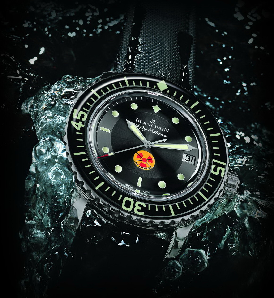 50 Fathoms History... BLANCPAIN+Tribute+to+Fifty+Fathoms+%28water%29