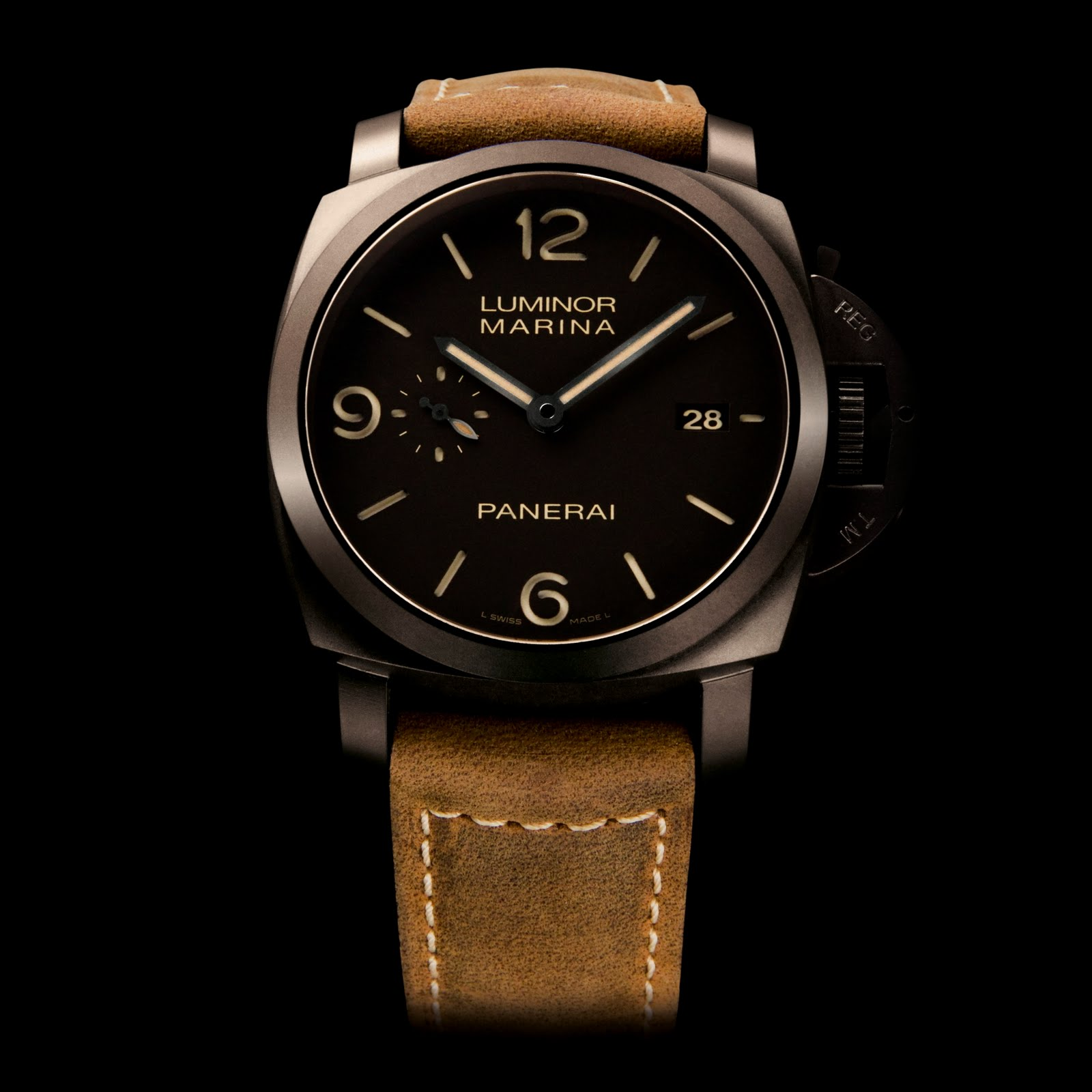 oceanictime panerai luminor composite marina 1950 3 days. Black Bedroom Furniture Sets. Home Design Ideas