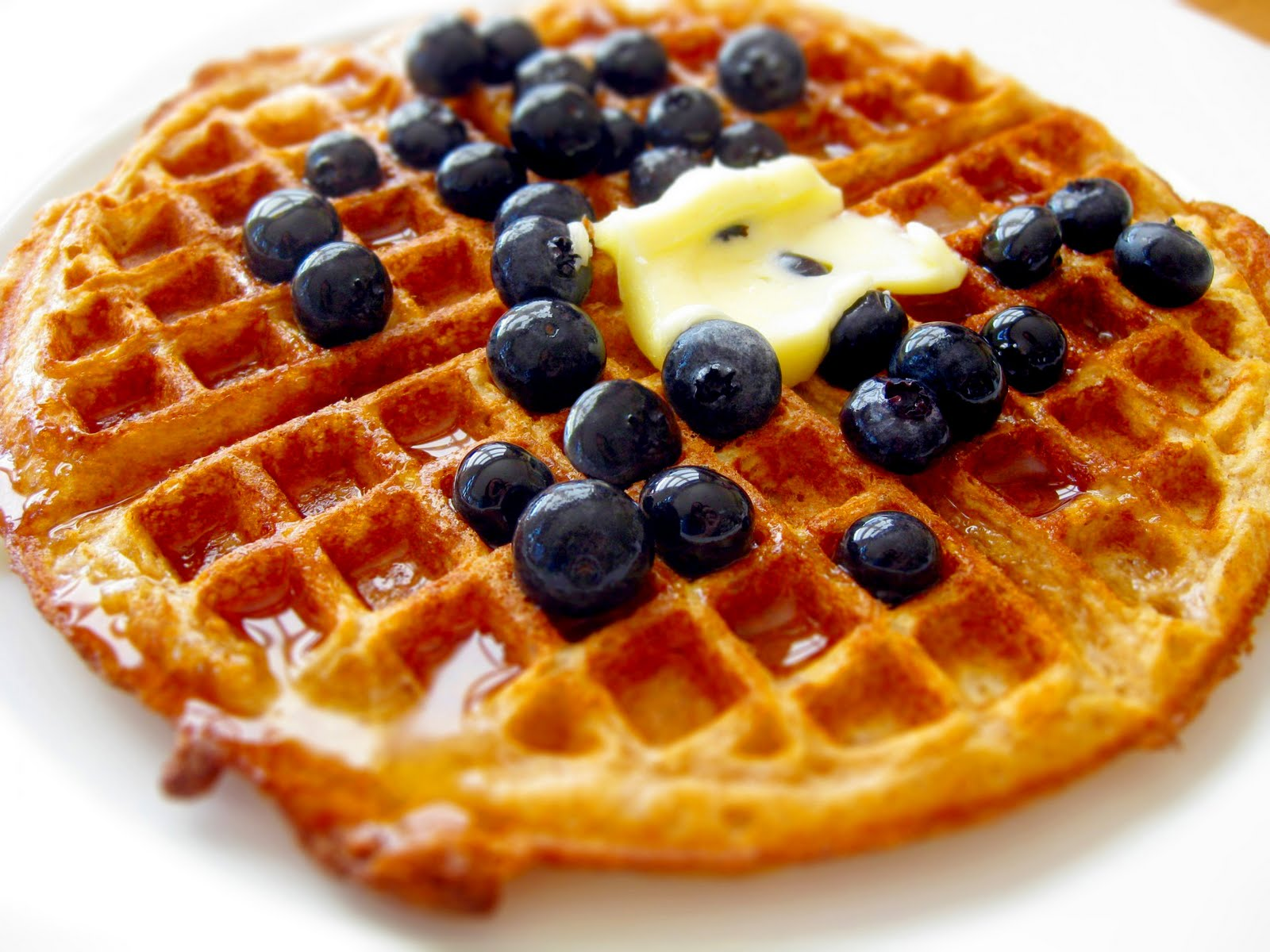 Crafty Lass: Crispy Overnight Waffles