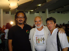 Olinda Recife Piassa e o cineasta Lula Gonzaga ao centro.