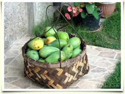 green mango tropical fruit