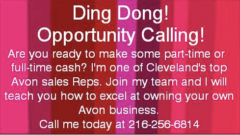 Avon Man Sells Avon Business Cards Make Yours Work Double Duty
