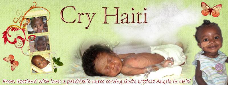 Cry Haiti