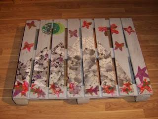 Palets - Decoration de noel avec objet de recuperation ...