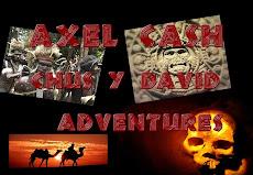 Si te gusta leer, te invito a que te des una vuelta por  mi blog de relatos, Axel Cash Adventures