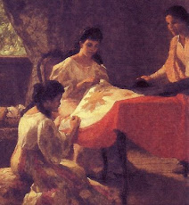 Painting of Fernando Amorsolo