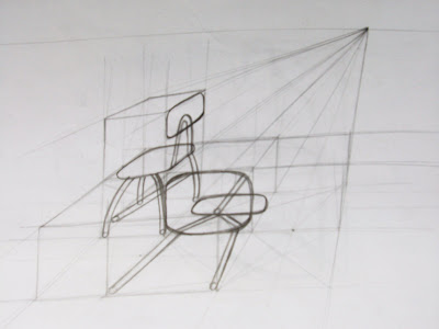 Blog dibujo sillas en perspectiva for Sillas para dibujar