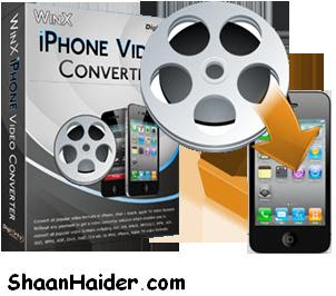 WinX iPhone Video Converter Free Serial Key