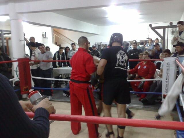 Lucha de Kick Boxing