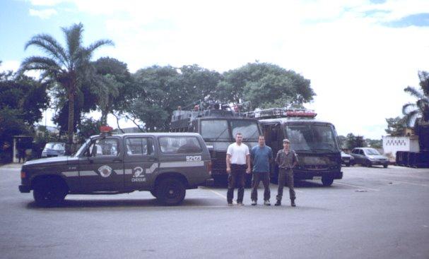 Batallon de Choque. Policia Militar San Pablo Brsil- Prof. Rene Olmedo y Maestro Luis Miele.