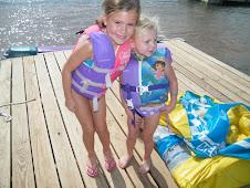 Haylee (6) & Abby (4)