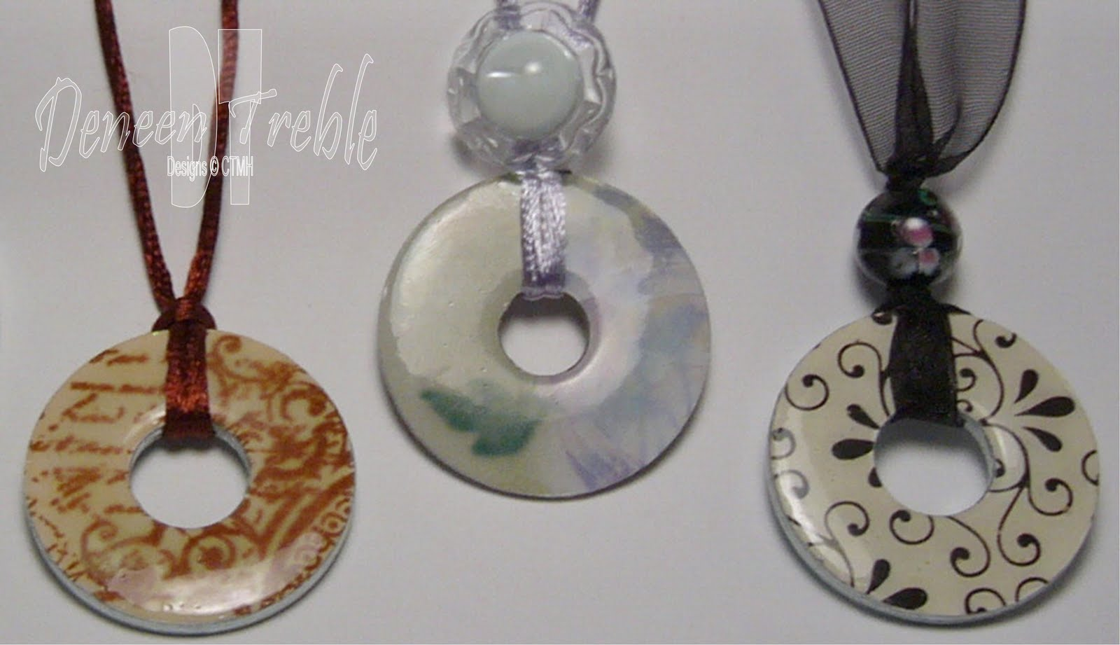 A path of paper washer pendant necklaces keychains aloadofball Choice Image