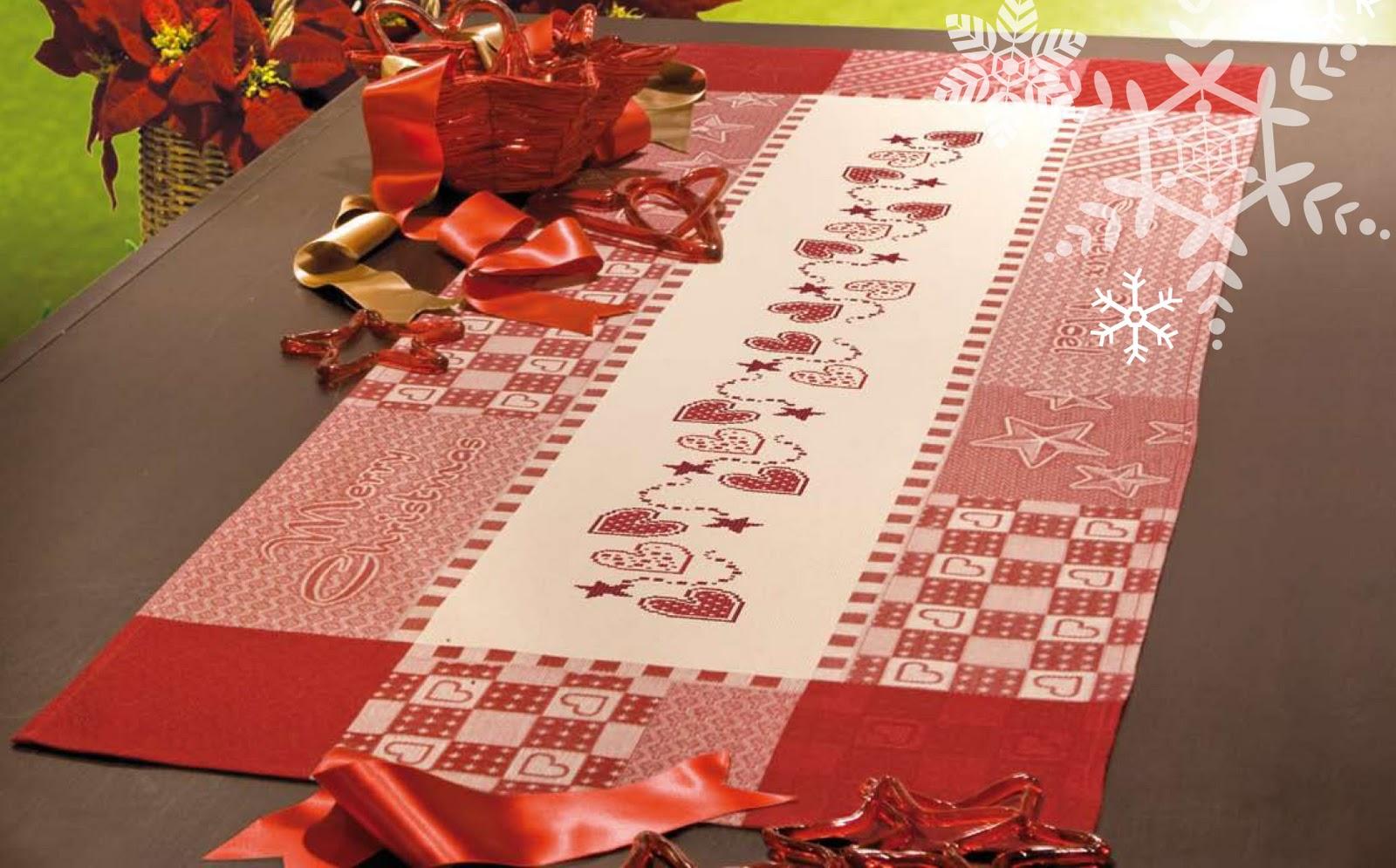 El blog de dmc nueva colecci n de manteles de navidad - Ideas para hacer manteles ...