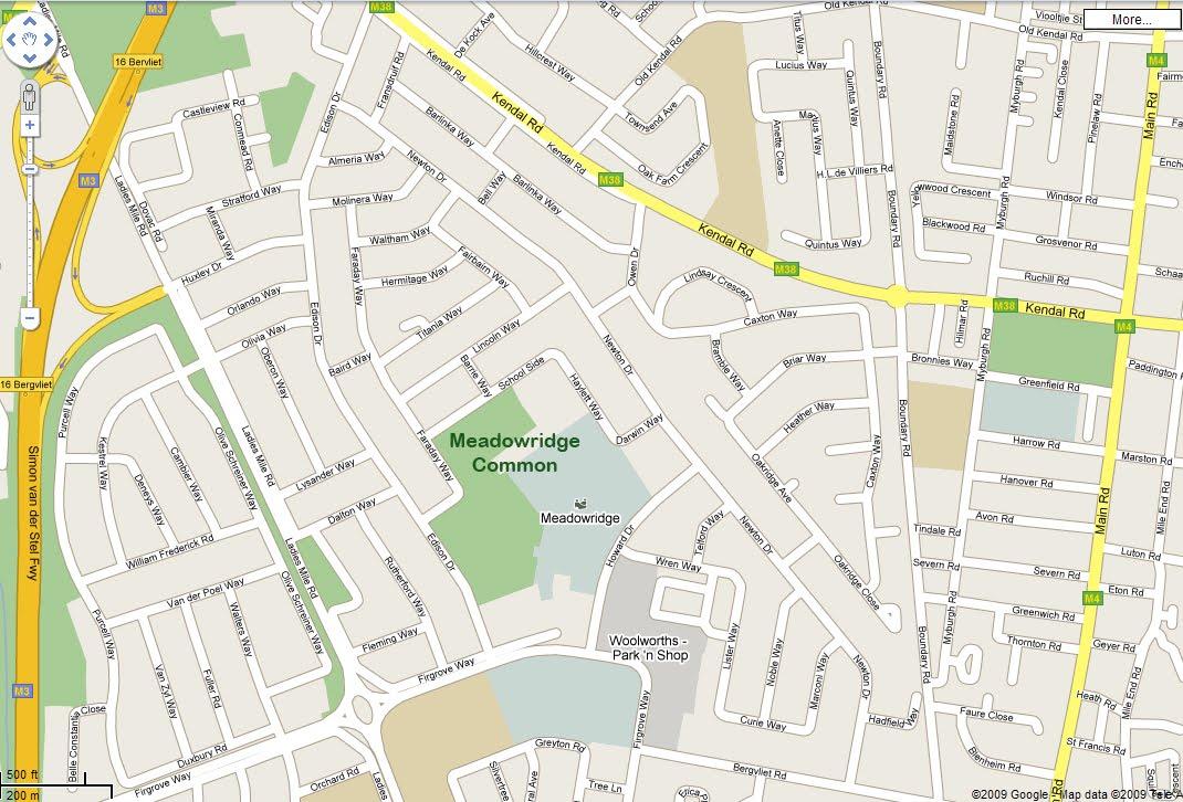 Meadowridge Common: Find us