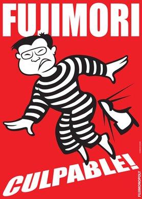 Fujimori sentenciado 25 años de cárcel