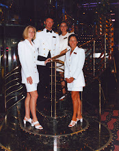 Lise with her Medical Team CARNIVAL CRUISE SHIP