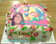 Princess Edible Pictures cake