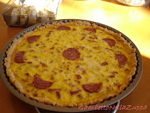 "Quiche porri e salamini ""cacciatore"""